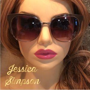 Jessica Simpson 🤎 Brown Oversized Sunglasses